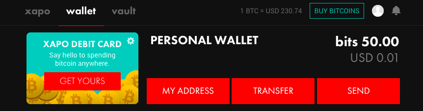 How do i set up my xapo wallet d9 clube soccer arbitrage traders to order your xapo debit card go to your main wallet and click on get yours on the upper left hand side if you cannot see this icon in your main wallet ccuart Image collections